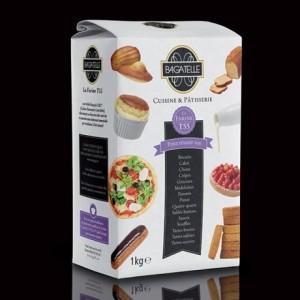 Bagatelle wheat flour Label Rouge CRC T55 5 kg