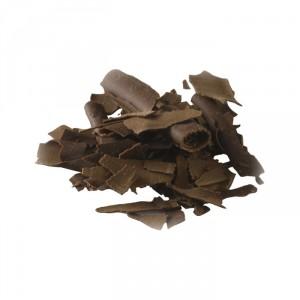 Dark chocolate shavings 45,5% cocoa 2,5 kg
