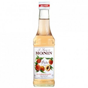 Peach Monin syrup 25 cL