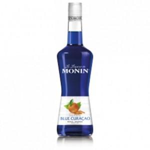 Blue curaçao Monin liqueur 70 cL