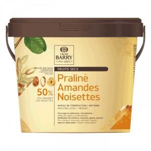 Praliné almonds & hazelnuts 50% 1 kg