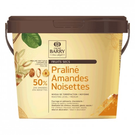 Praliné Favorites almonds & hazelnuts 50% 1 kg