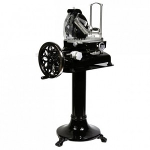 Manual flywheel slicer black Ø 300 mm
