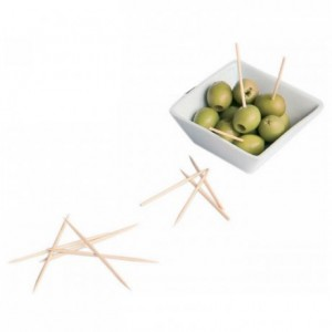 Cocktails picks 2 spikes L 100 mm (1000 pcs)