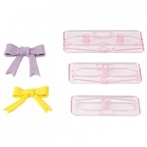 Bow tie cutter (set of 3)