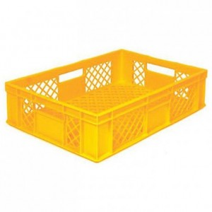 Bakery basket 29 L yellow