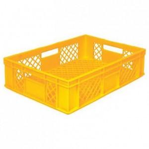 Bakery basket 61 L yellow