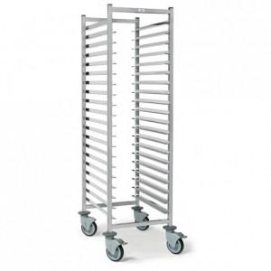 20-shelf pastry trolley Optimo 600 x 400 x 1650 mm