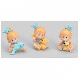 Blue toy baby (6 pcs)