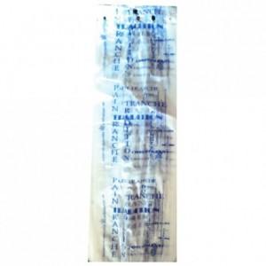 Bread bag Bioplast blue 430 x 160 (200 pcs)