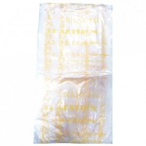 Bread bag Bioplast beige 400 x 230 (200 pcs)
