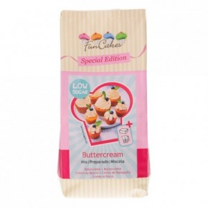 FunCakes Mix for Buttercream Low Sugar 400g