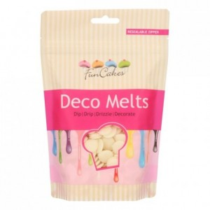 FunCakes Deco Melts White 250g