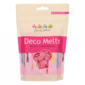 FunCakes Deco Melts Pink 250g