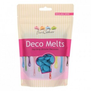 FunCakes Deco Melts Blue 250g
