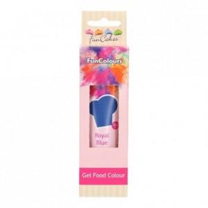 FunCakes Edible FunColours Gel Royal Blue 30g