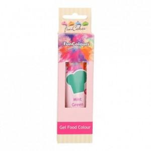 FunCakes Edible FunColours Gel Mint Green 30g