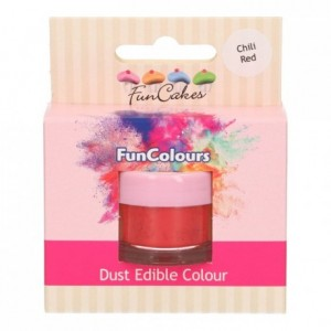 FunCakes Edible FunColours Dust Chili Red