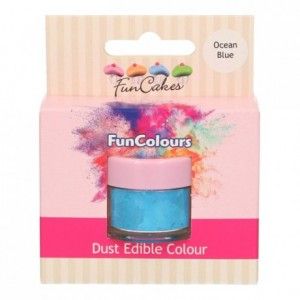 FunCakes Edible FunColours Dust Ocean Blue