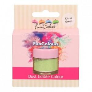 FunCakes Edible FunColours Dust Citrus Green