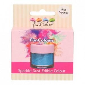 FunCakes Edible FunColours Sparkle Dust Blue Sapphire