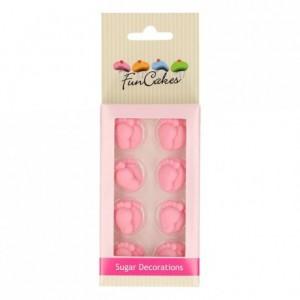 FunCakes Sugar Decorations Baby Feet Girl Set/16