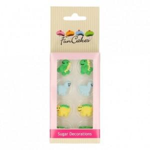 FunCakes Sugar Decorations Dino Set/12