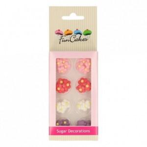 FunCakes Sugar Decorations Little Flowers Set/32