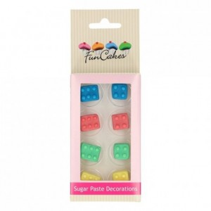 FunCakes Sugar Paste Decorations Building Blocks Set/8