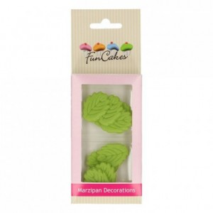 FunCakes Marzipan Decorations Leaves Set/12