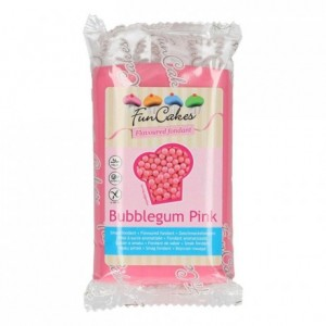 FunCakes Flavoured Fondant Bubblegum Pink 250g