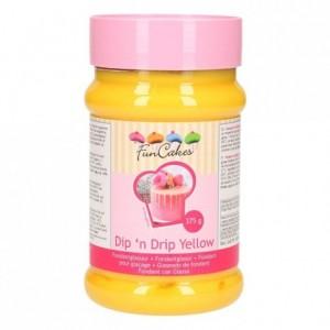 FunCakes Dip 'n Drip Yellow 375g