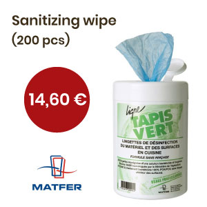 sanitizing wipe, Matfer